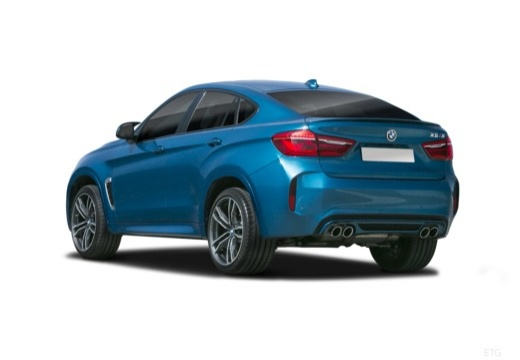 BMW X6 hatchback tylny lewy