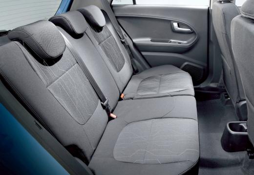 KIA Picanto III hatchback wnętrze
