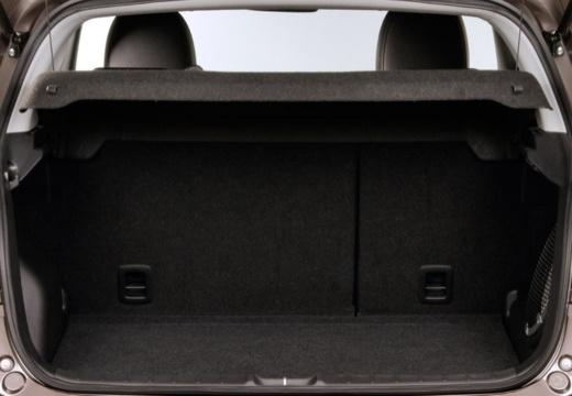MITSUBISHI ASX II hatchback szary ciemny przestrzeń załadunkowa