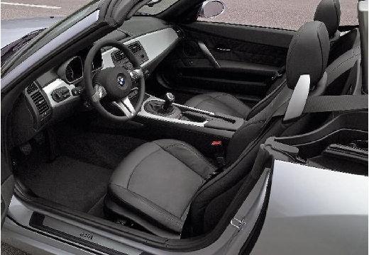 BMW Z4 E85 II roadster silver grey wnętrze