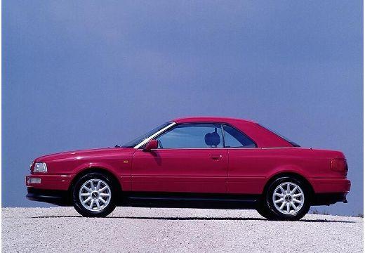 AUDI 80 kabriolet fioletowy boczny prawy