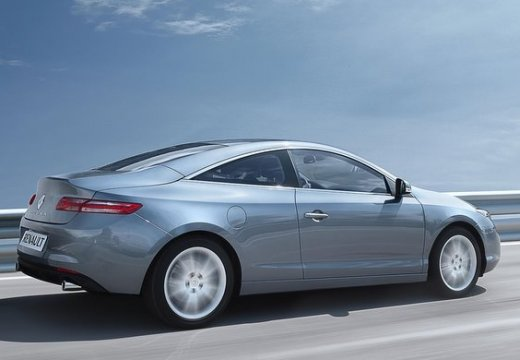 RENAULT Laguna II coupe silver grey tylny prawy
