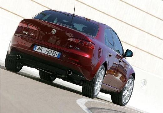 ALFA ROMEO 159 I sedan bordeaux (czerwony ciemny) tylny prawy