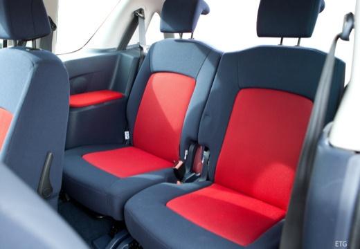 PEUGEOT 1007 hatchback wnętrze