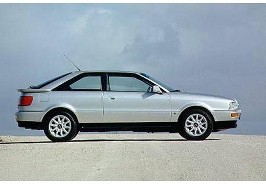AUDI 80 coupe silver grey boczny prawy