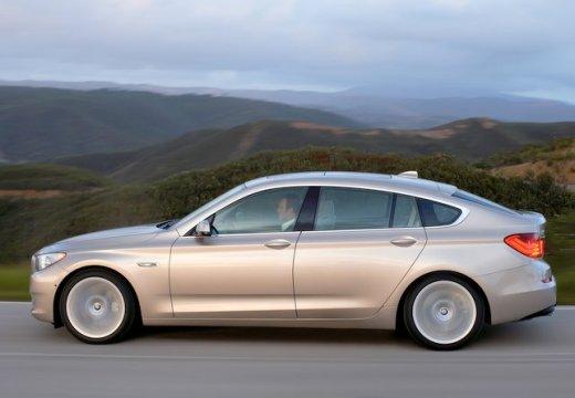 BMW Seria 5 Gran Turismo hatchback beige boczny lewy