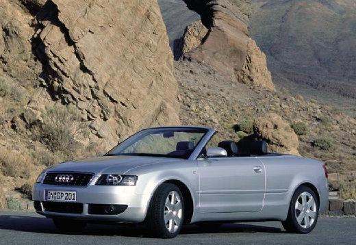 AUDI A4 Cabriolet 8H I kabriolet silver grey przedni lewy