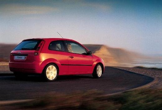 FORD Fiesta V hatchback czerwony jasny tylny prawy