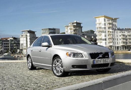 VOLVO S80 sedan silver grey przedni prawy