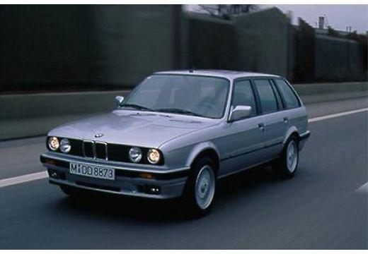 BMW Seria 3 Touring E30 kombi silver grey przedni lewy