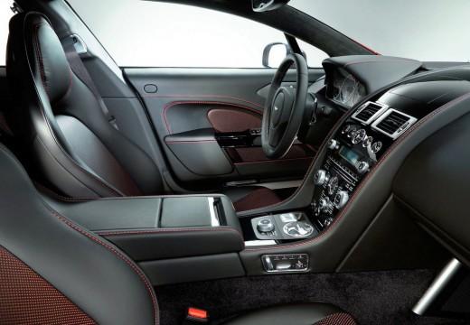 ASTON MARTIN Rapide S coupe wnętrze