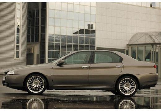 ALFA ROMEO 166 sedan szary ciemny boczny lewy
