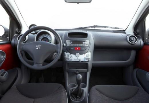 PEUGEOT 107 II hatchback tablica rozdzielcza