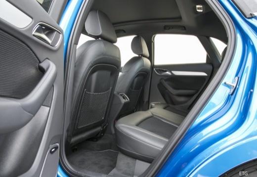 AUDI Q3 II kombi wnętrze