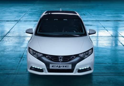 HONDA Civic VIII hatchback biały przedni