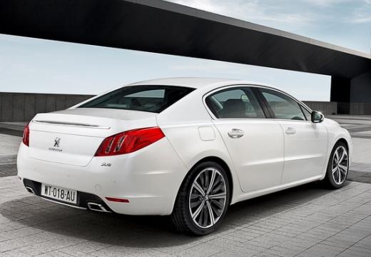 PEUGEOT 508 sedan biały tylny prawy