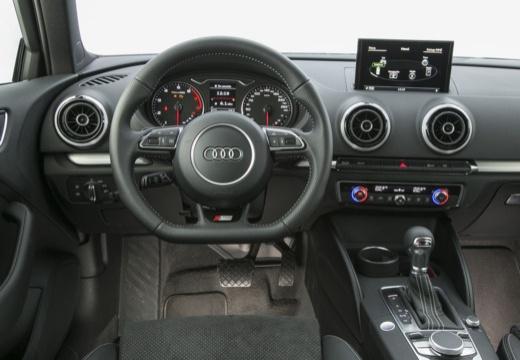 AUDI A3 8V hatchback szary ciemny tablica rozdzielcza