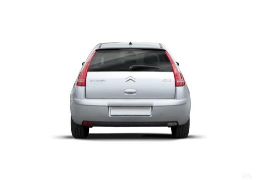 CITROEN C4 II hatchback silver grey tylny