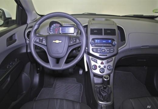 CHEVROLET Aveo III hatchback tablica rozdzielcza