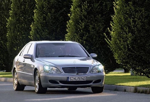 MERCEDES-BENZ S 350 Sedan W 220 II 3.8 245KM (benzyna)
