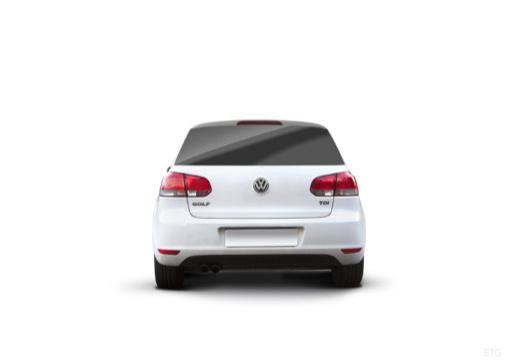 VOLKSWAGEN Golf VI hatchback tylny