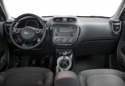 KIA Soul III hatchback tablica rozdzielcza