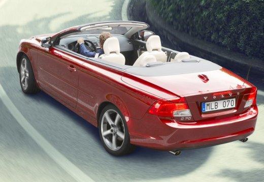 VOLVO C70 Cabrio III kabriolet czerwony jasny tylny lewy
