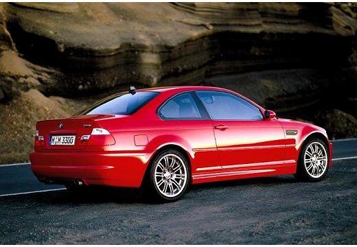 BMW Seria 3 coupe czerwony jasny tylny prawy