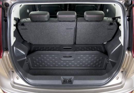 NISSAN Note II hatchback przestrzeń załadunkowa