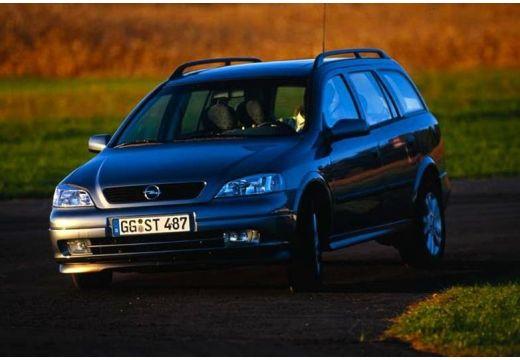 OPEL Astra II Classic kombi niebieski jasny przedni lewy