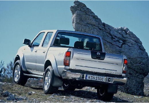 NISSAN Pick Up Navara II pickup silver grey tylny lewy