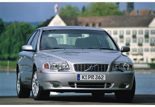 VOLVO S80 II sedan silver grey przedni prawy