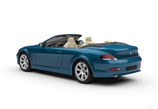 BMW Seria 6 Cabriolet E64 I kabriolet tylny lewy