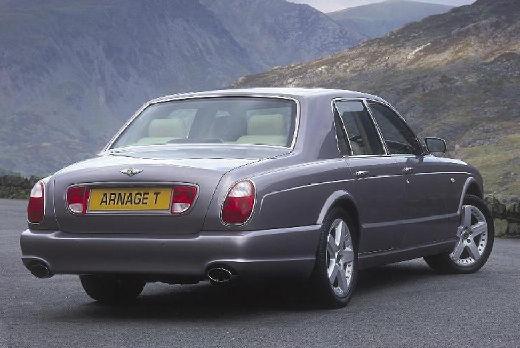 BENTLEY Arnage sedan silver grey tylny prawy