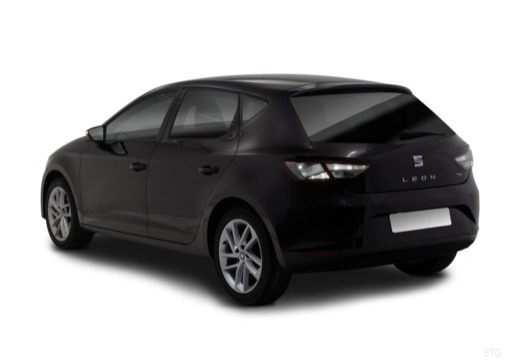SEAT Leon IV hatchback czarny tylny lewy