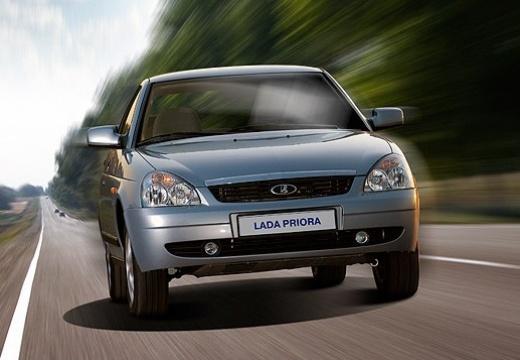 LADA Priora 2170 sedan silver grey przedni prawy