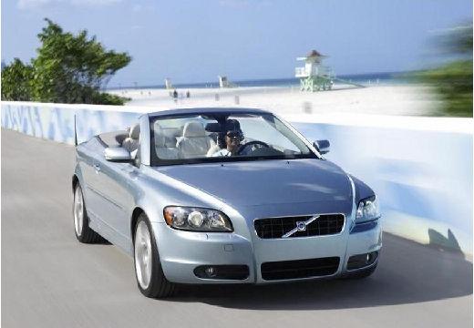 VOLVO C70 Cabrio II kabriolet niebieski jasny przedni prawy