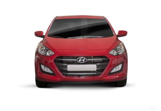 HYUNDAI i30 IV hatchback czerwony jasny przedni