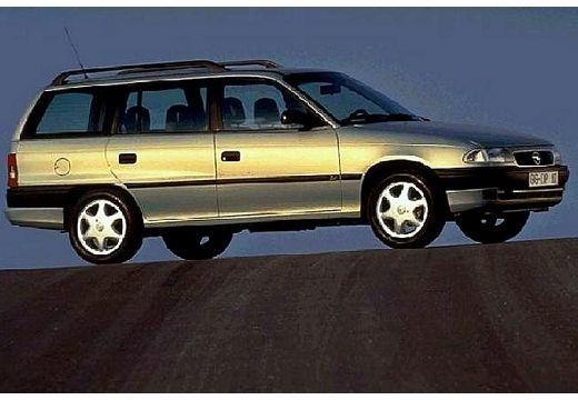 OPEL Astra II kombi złoty przedni prawy