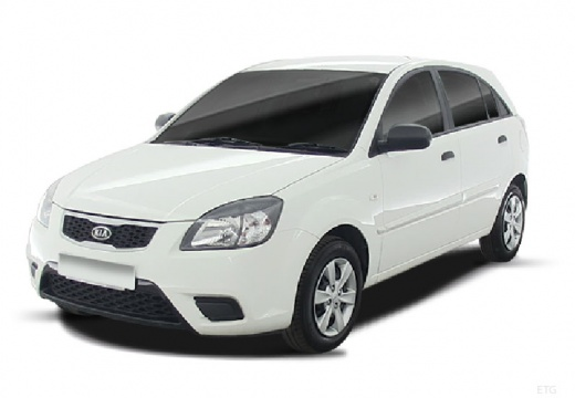 KIA Rio IV hatchback biały