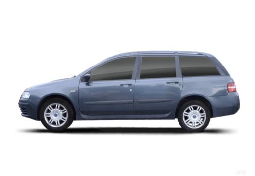 FIAT Stilo Multiwagon I kombi szary ciemny boczny lewy
