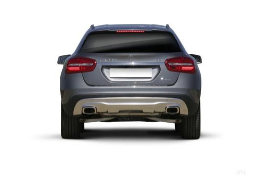 MERCEDES-BENZ Klasa GLA hatchback tylny