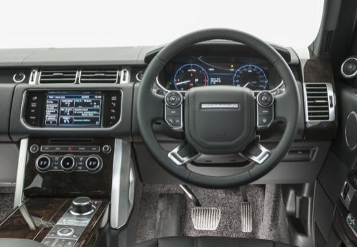 LAND ROVER Range Rover VI kombi biały tablica rozdzielcza