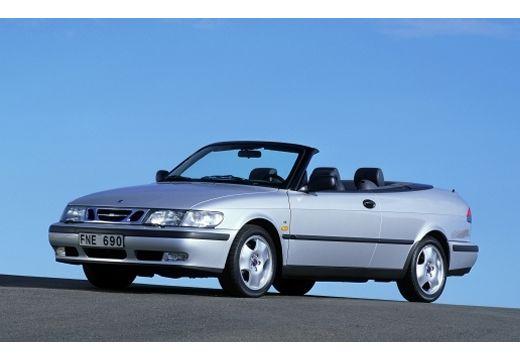 SAAB 9-3 Cabriolet I kabriolet silver grey przedni lewy