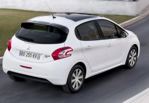 PEUGEOT 208 I hatchback biały tylny prawy