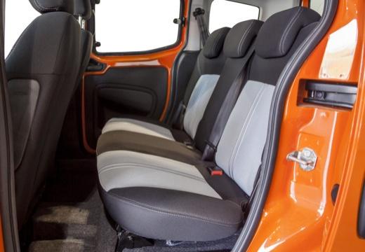 FIAT Fiorino Qubo kombi pomarańczowy wnętrze