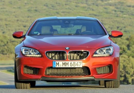 BMW Seria 6 F13 I coupe czerwony jasny przedni