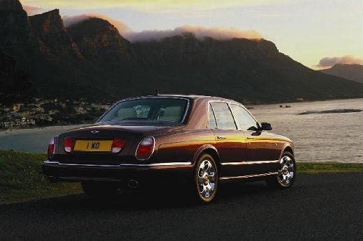 BENTLEY Arnage sedan bordeaux (czerwony ciemny) tylny prawy