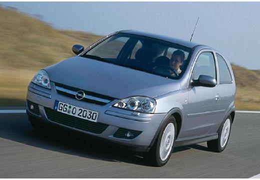 OPEL Corsa hatchback silver grey przedni lewy