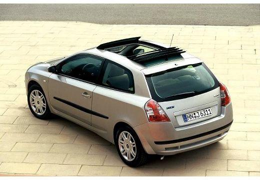 FIAT Stilo III hatchback silver grey tylny lewy